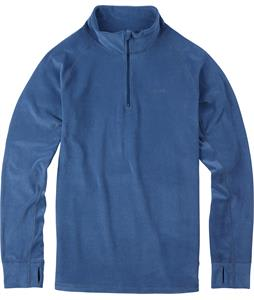 Burton Expedition 1/4 Zip Baselayer Top Team Blue