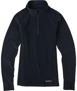 Burton Expedition 1/4 Zip Baselayer Top True Black