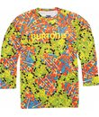 Burton Explorer Crew First Layer Top Candy Camo Print - Kid's
