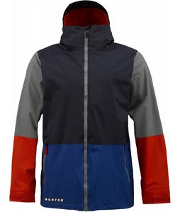 Burton Faction Insulated Snowboard Jacket Ballpoint Colorblock