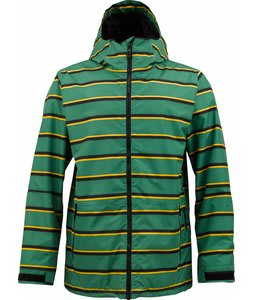 Burton Faction Insulated Snowboard Jacket Murphy Marcos Stripe