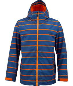 Burton Faction Snowboard Jacket Royal Marcos Stripe