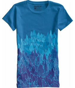 Burton Feather T-Shirt Heather Blue-Ray