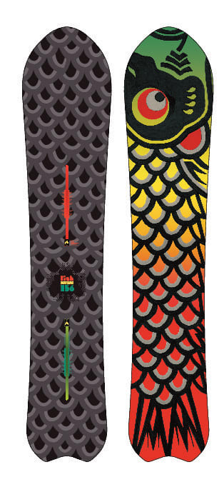 Shop for Burton Fish Snowboard 156 - Men's