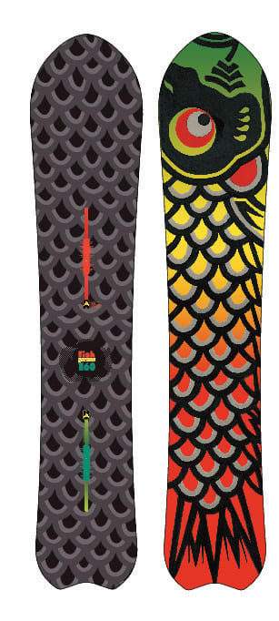Shop for Burton Fish Snowboard 160 - Men's