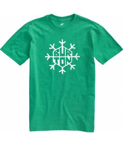 Burton Flake T-Shirt Heather Pine Crest