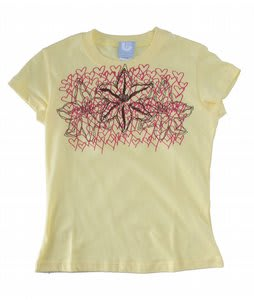 Burton Flora Dec T-Shirt Lemon