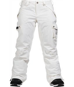 Burton Fly Snowboard Pants Bright White
