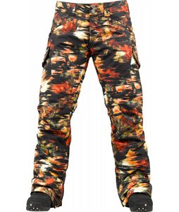 Burton Fly Snowboard Pants Trippy Garden Print