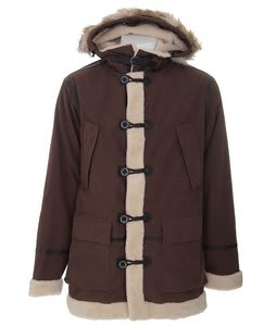 Burton Fort Parka Snowboard Jacket Roasted Brown