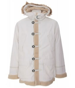 Burton Fort Parka Snowboard Jacket Rock Salt