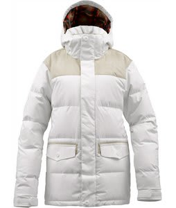 Burton Foxx Down Snowboard Jacket Bright White