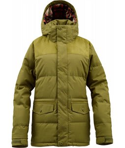 Burton Foxx Down Snowboard Jacket Olive