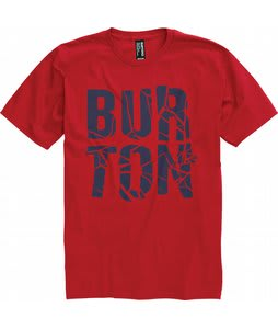Burton Fracture T-Shirt Cardinal