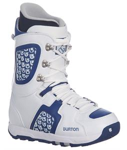 Burton Freestyle Snowboard Boots White/Blue