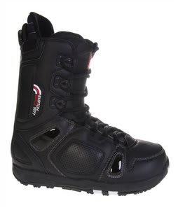 Burton Freestyle Snowboard Boots Black/Black