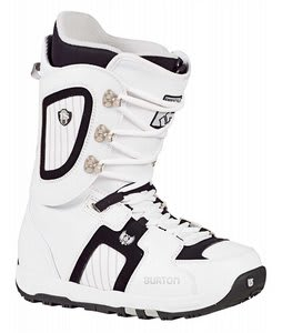 Burton Freestyle Snowboard Boots White/Black