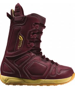 Burton Freestyle Snowboard Boots Burgundy/Yellow