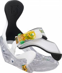Burton Grom Snowboard Bindings White