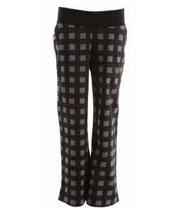 Burton Fulton Street Pants True Black Gingham