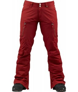 Burton Gemma Pants Biking Red