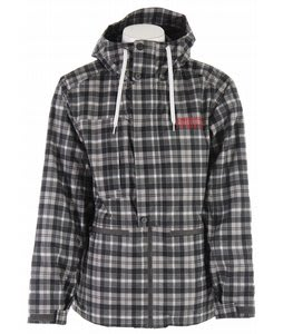 Burton Gianni Snowboard Jacket Black Tartan Plaid