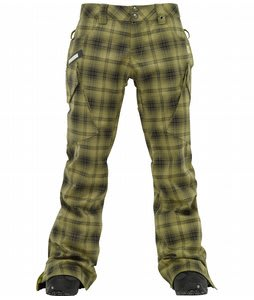 Burton Gloria Snowboard Pants Sycamore Burnout Plaid