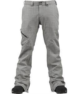 Burton GMP Clifton Snowboard Pants Prince Of Wales Plaid