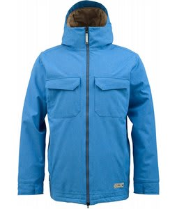 Burton GMP Knox Snowboard Jacket Heron Blue/Stout White