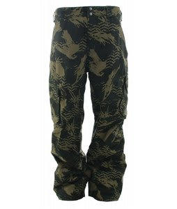 Burton GMP Cargo Snowboard Pants Resin Camo