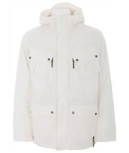 Burton GMP Traction Snowboard Jacket Bright White 