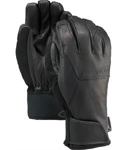 Burton Gondy Leather Gloves True Black