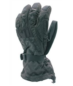 Burton Gore-Tex Gloves Black Heather Diamond
