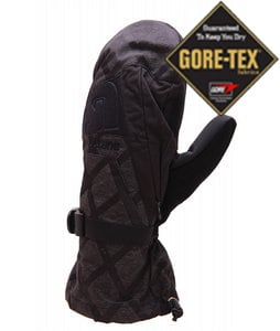 Burton Goretex Mittens Black Heather Diamond