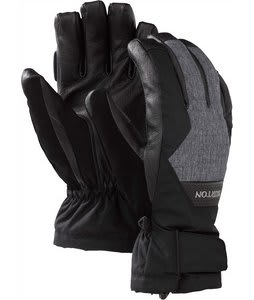 Burton Gore-Tex Leather Gloves True Black