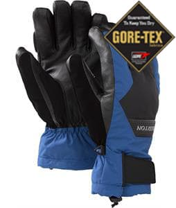 Burton Gore-Tex Leather Gloves True Black/Royals