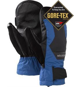 Burton Gore-Tex Leather Mittens True Black/Royals