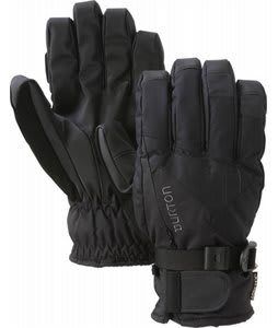 Burton Gore Tex Under Gloves True Black