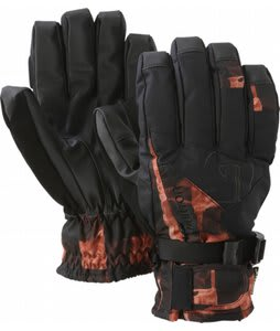 Burton Gore Tex Under Gloves Brimstone Painted Buffalo Plaid
