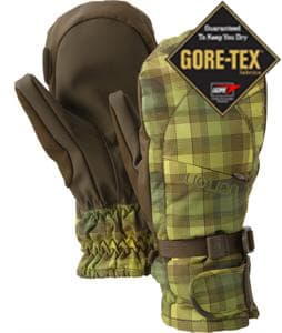 Burton Gore-Tex Under Mittens Brunette Ombre Plaid