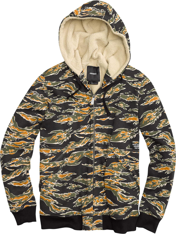 Burton Grand Fullzip Hoodie bt3grdf04tbk13zz-burton-hoodies