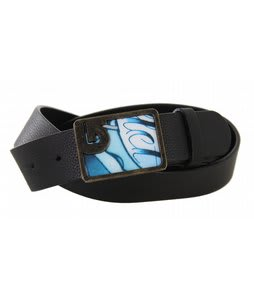 Burton Graphic Leather Belt True Black