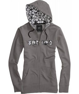 Burton Gravity Fullzip Hoodie Heather Heathers