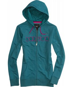 Burton Gravity Fullzip Hoodie Heather Spruce