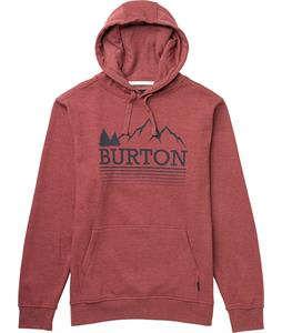 Burton Griswold Pullover Hoodie Heather Oxblood