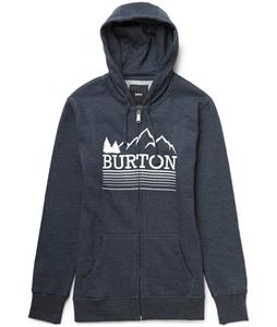 Burton Griswold Recycled Full-Zip Hoodie Heather Eclipse