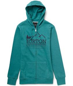 Burton Griswold Recycled Full-Zip Hoodie Heather Tidal Bore