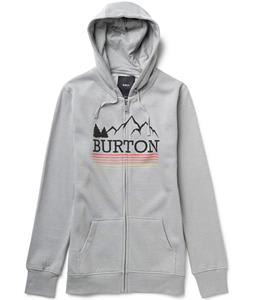 Burton Griswold Recycled Full-Zip Hoodie Heather Pewter