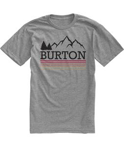 Burton Griswold Recycled Slim Fit T-Shirt Heather Pewter