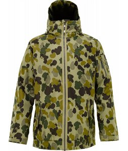 Burton Groucho Snowboard Jacket Grayeen Fowl Camo